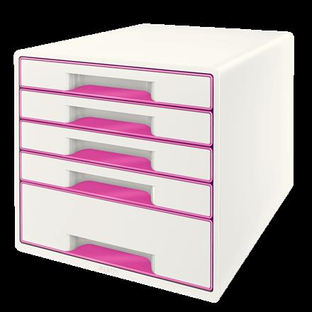 Leitz WOW Cube 5 drawer PK