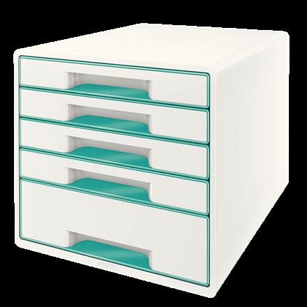 LeitzWOW Cube 5 drawer ICE BL