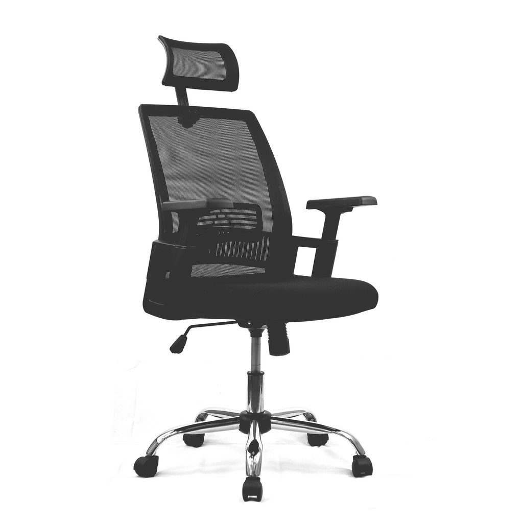 Alpha Mesh Chair with Headrest