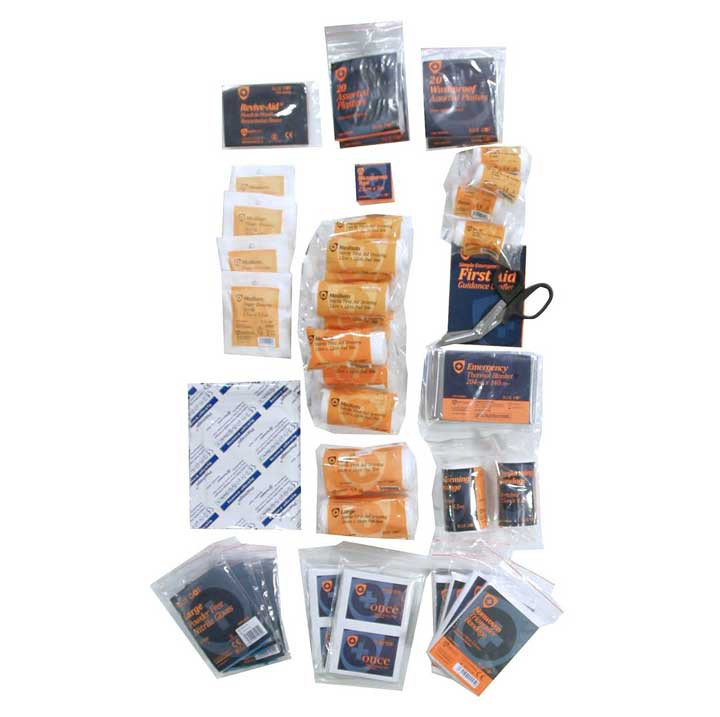 Equipment Standard 1-10 Person First Aid Kit Refill HSE