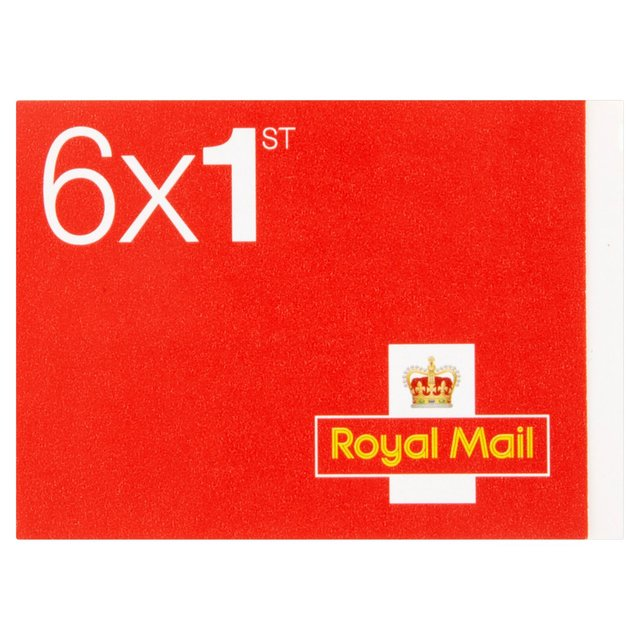 Image for Royal Mail First Class Stamps [50 x Book of 6]