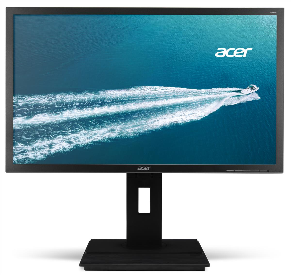 ACER 61cm 24IN Wide Darkgrey Acer EcoDi