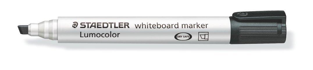 Drywipe Markers Staedtler Whiteboard Marker Black Chisel PK10