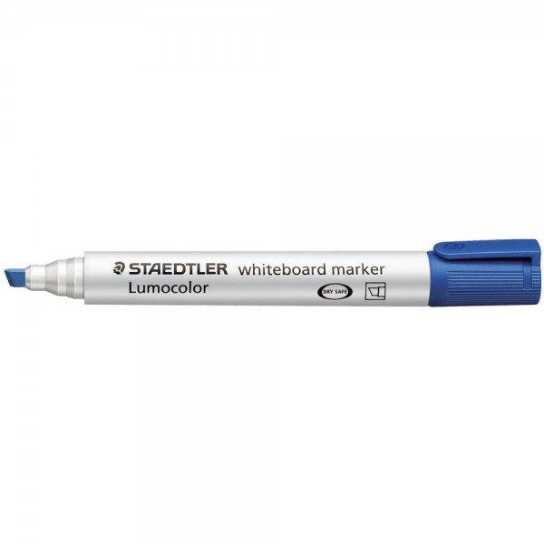 Whiteboard Marker Blue Chisel PK10