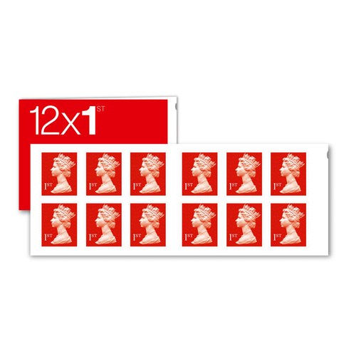 Image for Royal Mail First Class Stamps [50 x Book of 12]