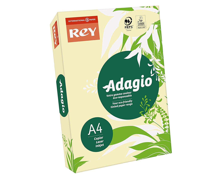 Rey Adagio A4 80gsm Canary RM500