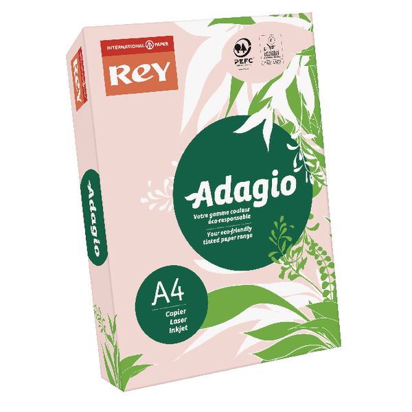 Rey Adagio A4 80gsm Pink RM500