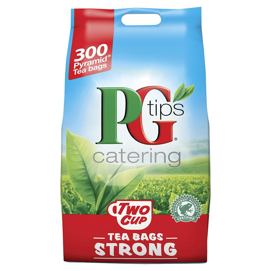 PGTips 2cup strong TeaBags Pk300 0403153