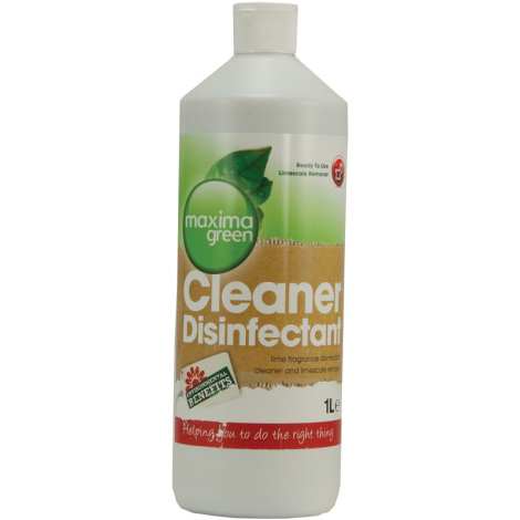 Maxima Green Disinfectant Cleaner 1Ltr