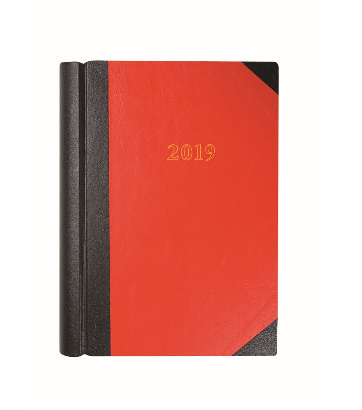 Collins A4 Desk Diary 2PTD 2019 RD