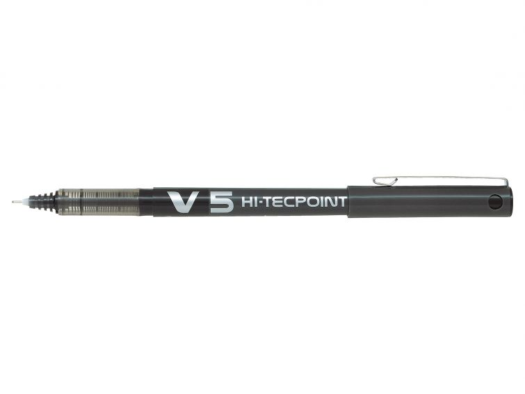 Pilot V5 Rollerball Pen Liquid Ink Black PK20 (Std Code 10154X) [20 for the price of 16]