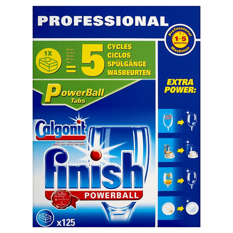 Finish Prof Dishwash Powerball Tab pk125