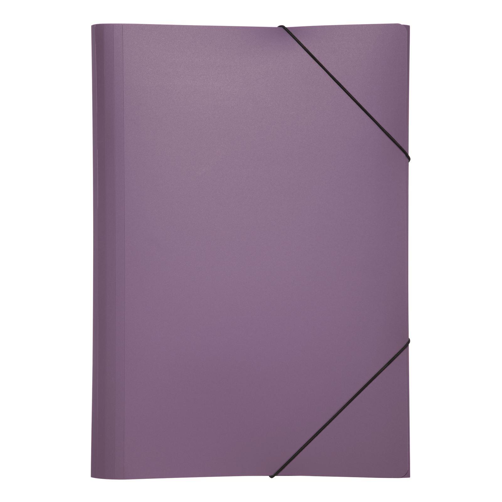 Pagna PP Elasticated Folder A4 Purple