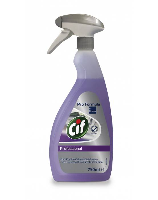 Cif 2in1 Cleaner Disinfectant 750ml