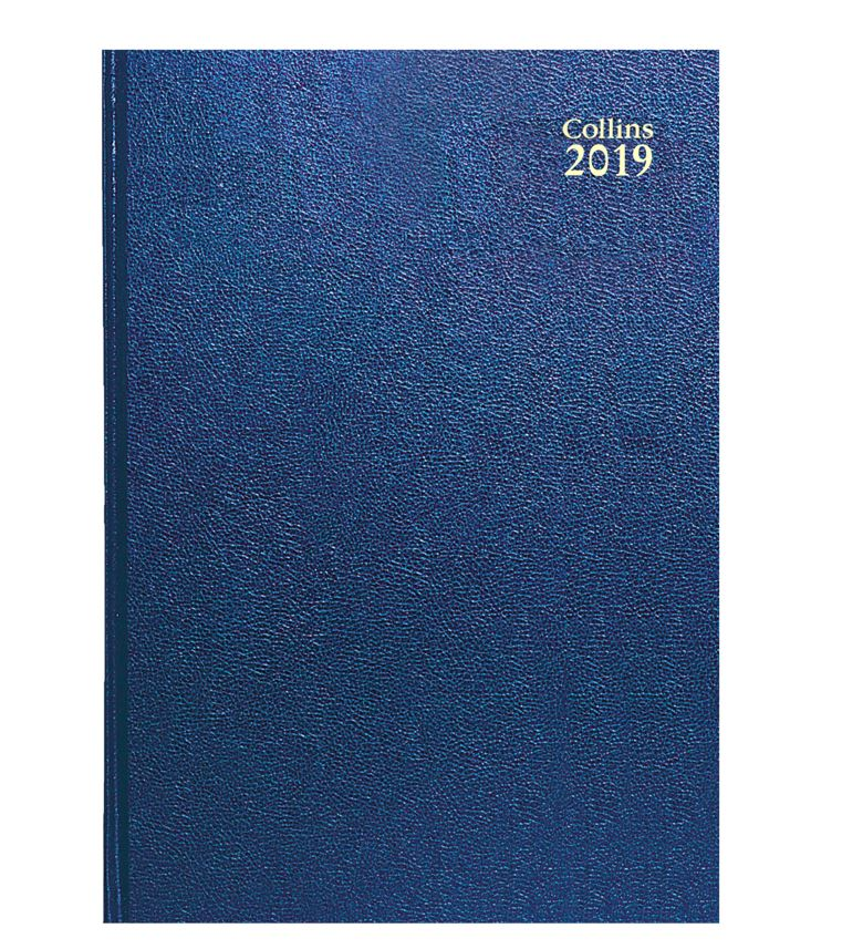 Collins 2019 Dy/Pg A5 Royal Diary 52 Blu