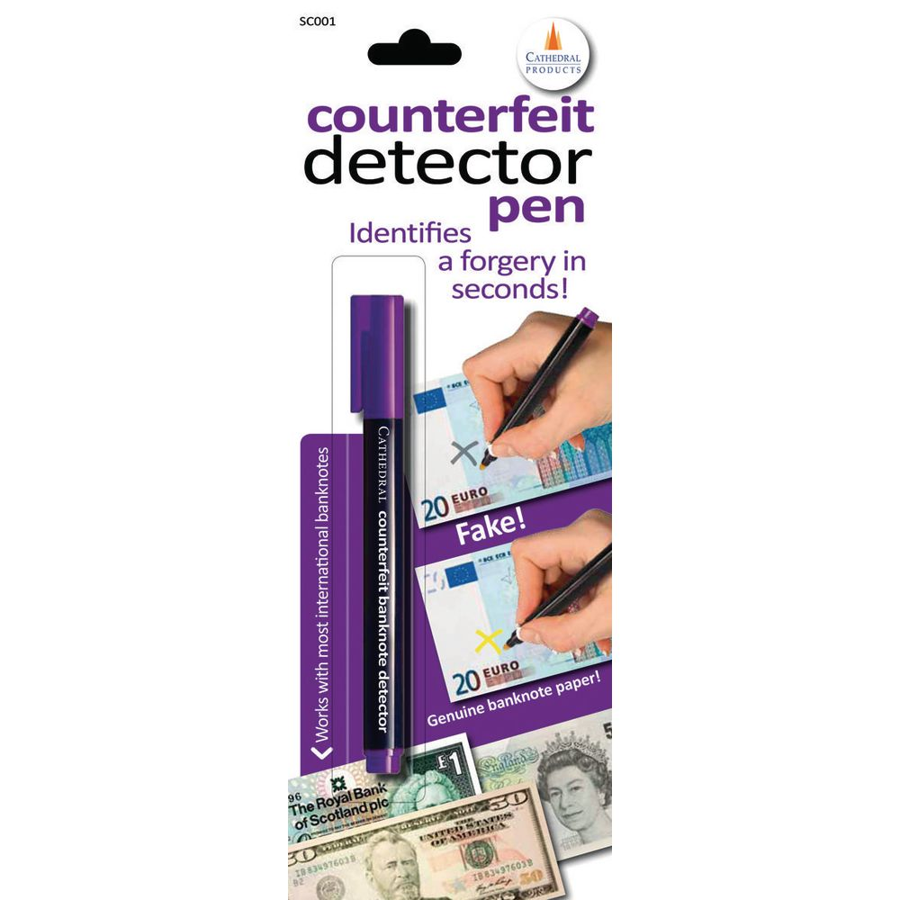 Counterfeit Detector Pen Single