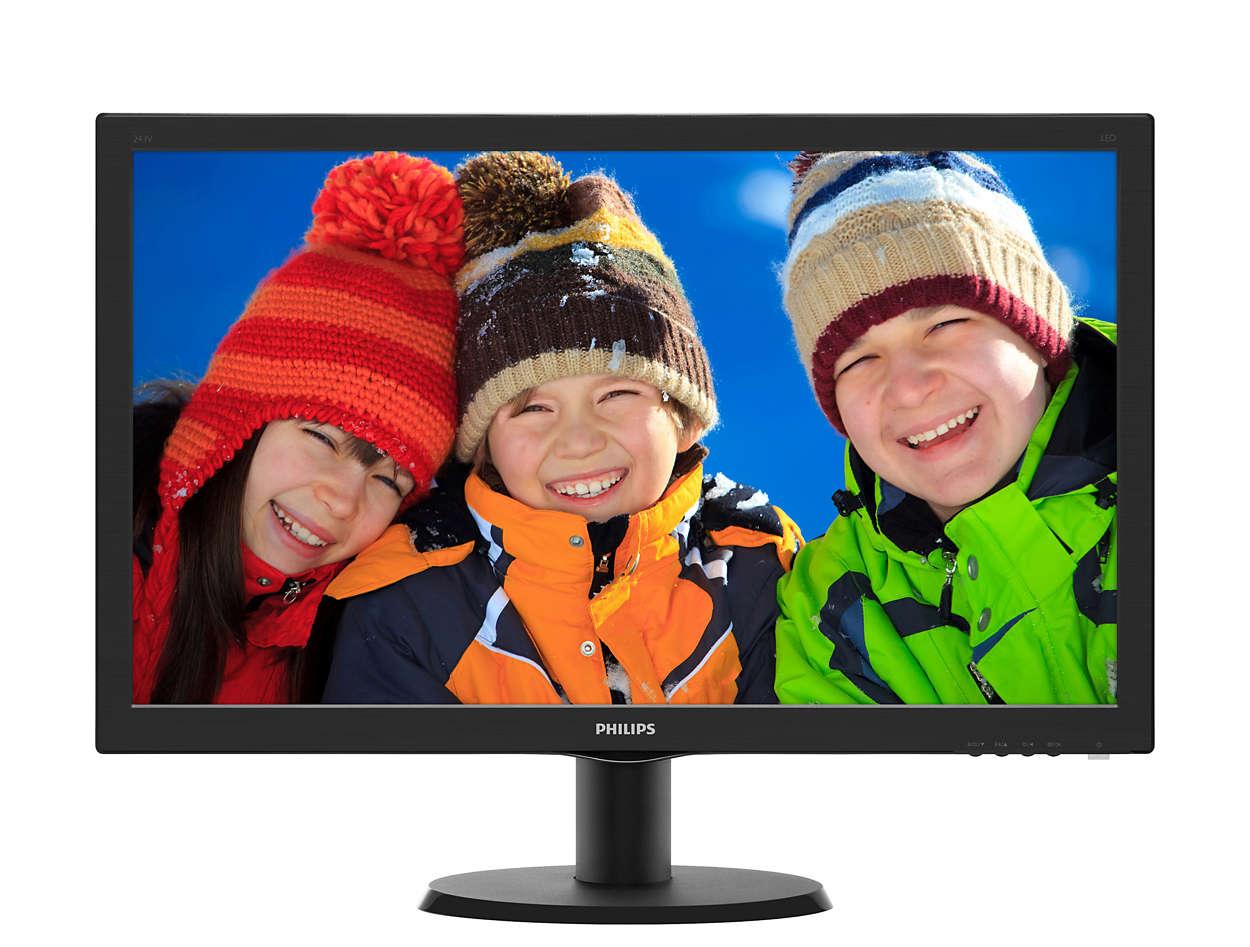 243V5LHSB5 VLine 24 INCH VGA DVI HDMI