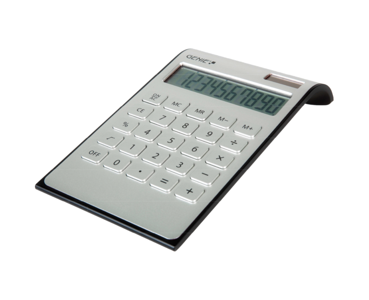 Desktop Calculator Genie DD400 Desktop Calculator Silver