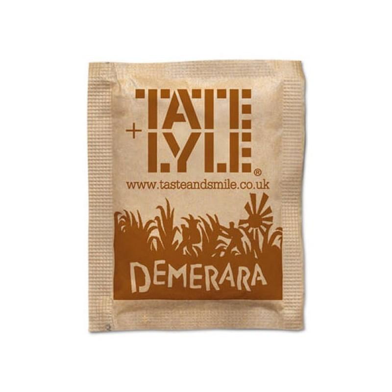 Sugar / Sweetener Tate & Lyle Demerara Sugar Sachet PK1000