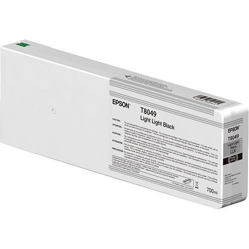 Inkjet Cartridges Epson C13T804900 T8049 Light Light Black Ink 700ml