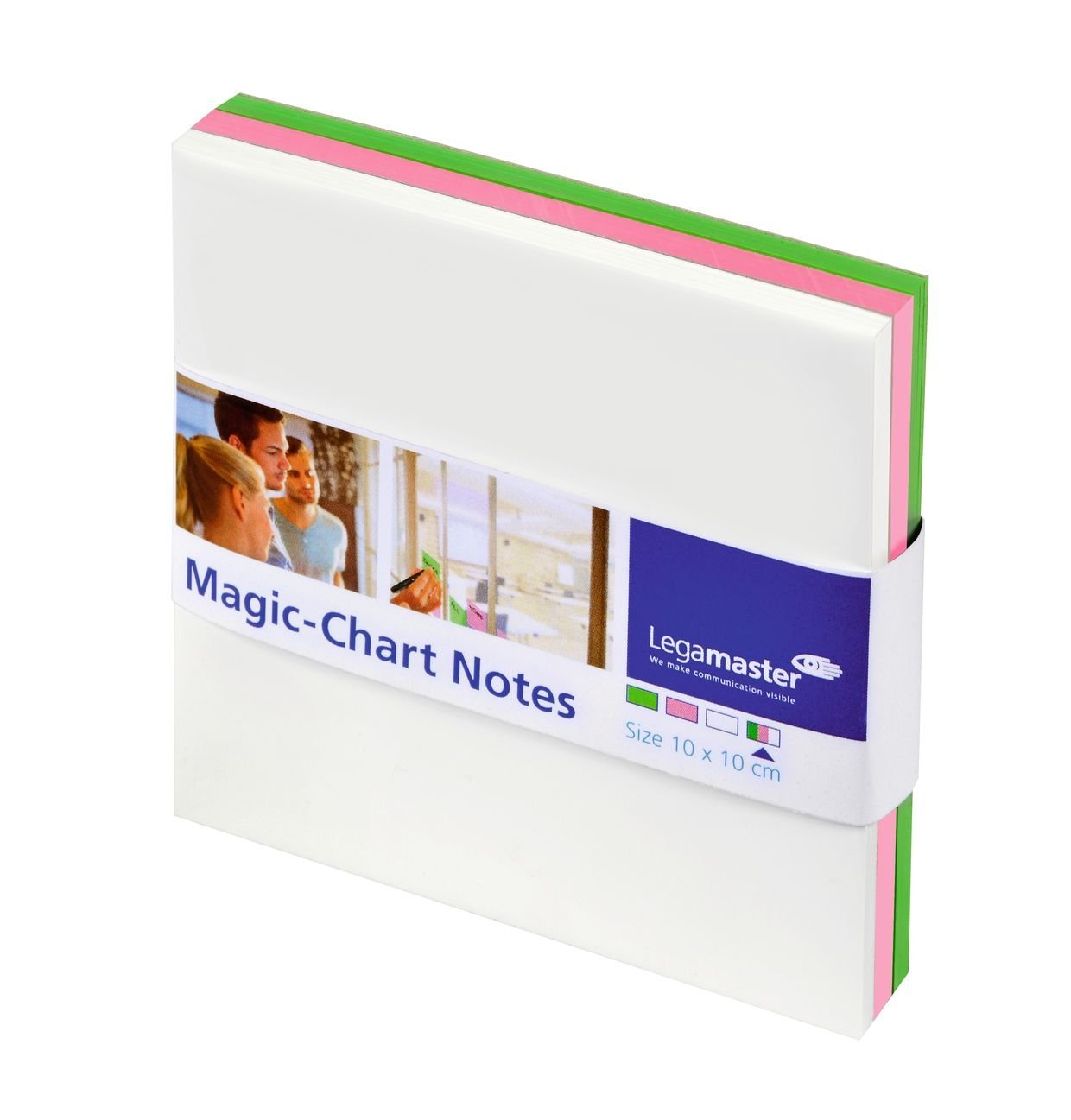 Magic-Chart Notes ATD 10x10 PK250