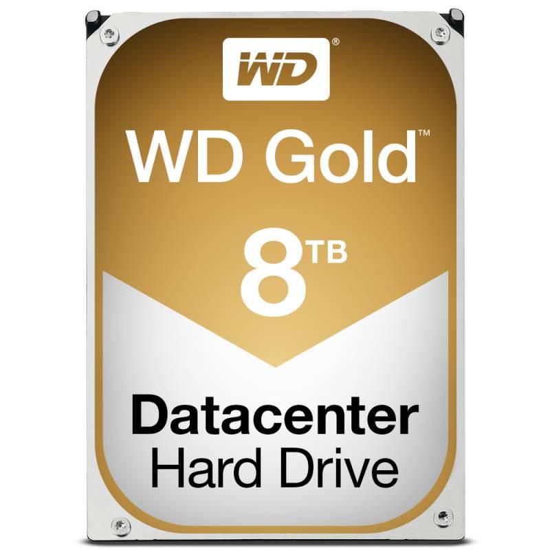 Western Digital HDD Int 8TB Gold SATA 3.5 Inch