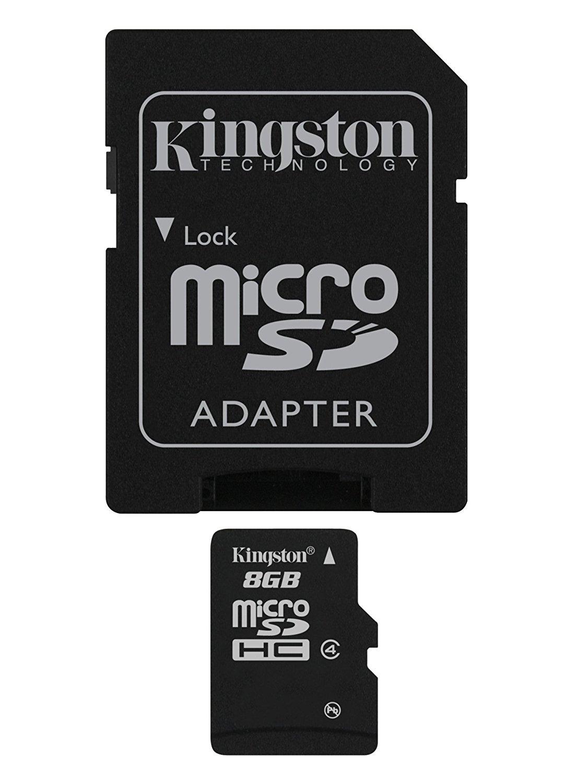 8GB microSDHC Class 4 Card SD Ad