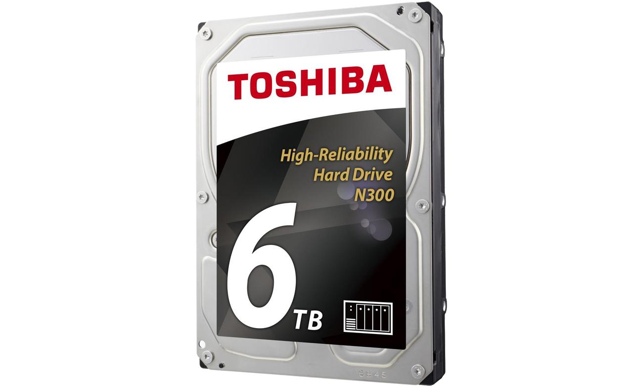 Toshiba HDD Int 6TB N300 Sata