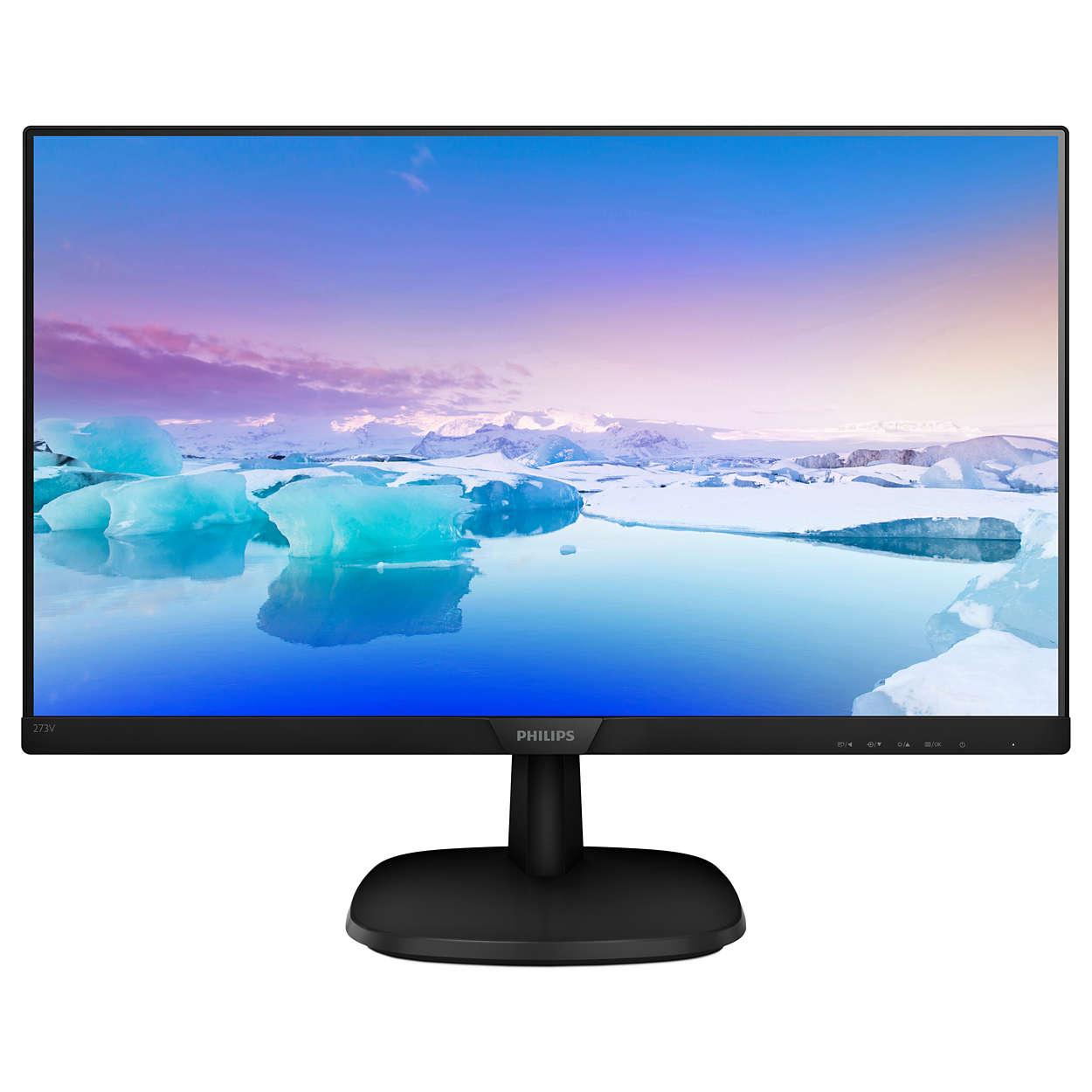 Monitors Philips 273V7Qdsb V Line 27In Ips HDMI