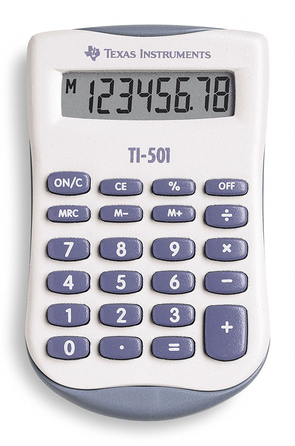 Handheld Calculator TI-501 Pocket Calculator
