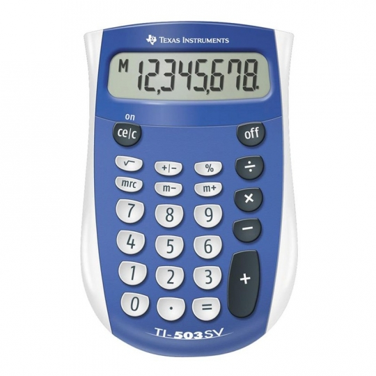 Handheld Calculator TI-503 SV Pocket Calculator