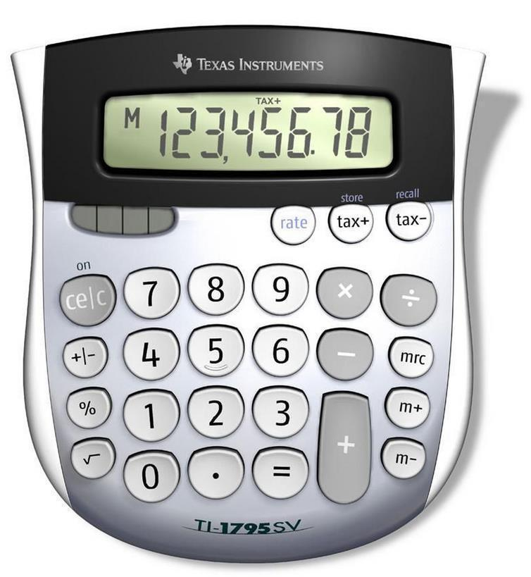 Desktop Calculator TI-1795 SV Mini Desktop Calculator