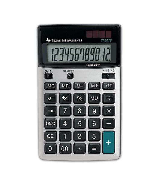 Desktop Calculator TI-5018 SV Desktop Calculator