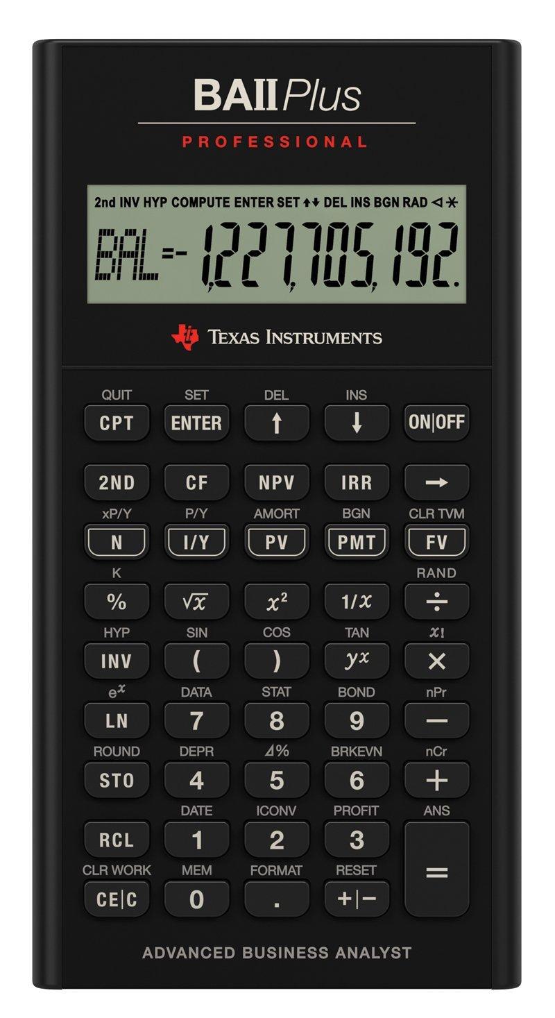 Scientific Calculator BA II Plus Pro Financial Calculator