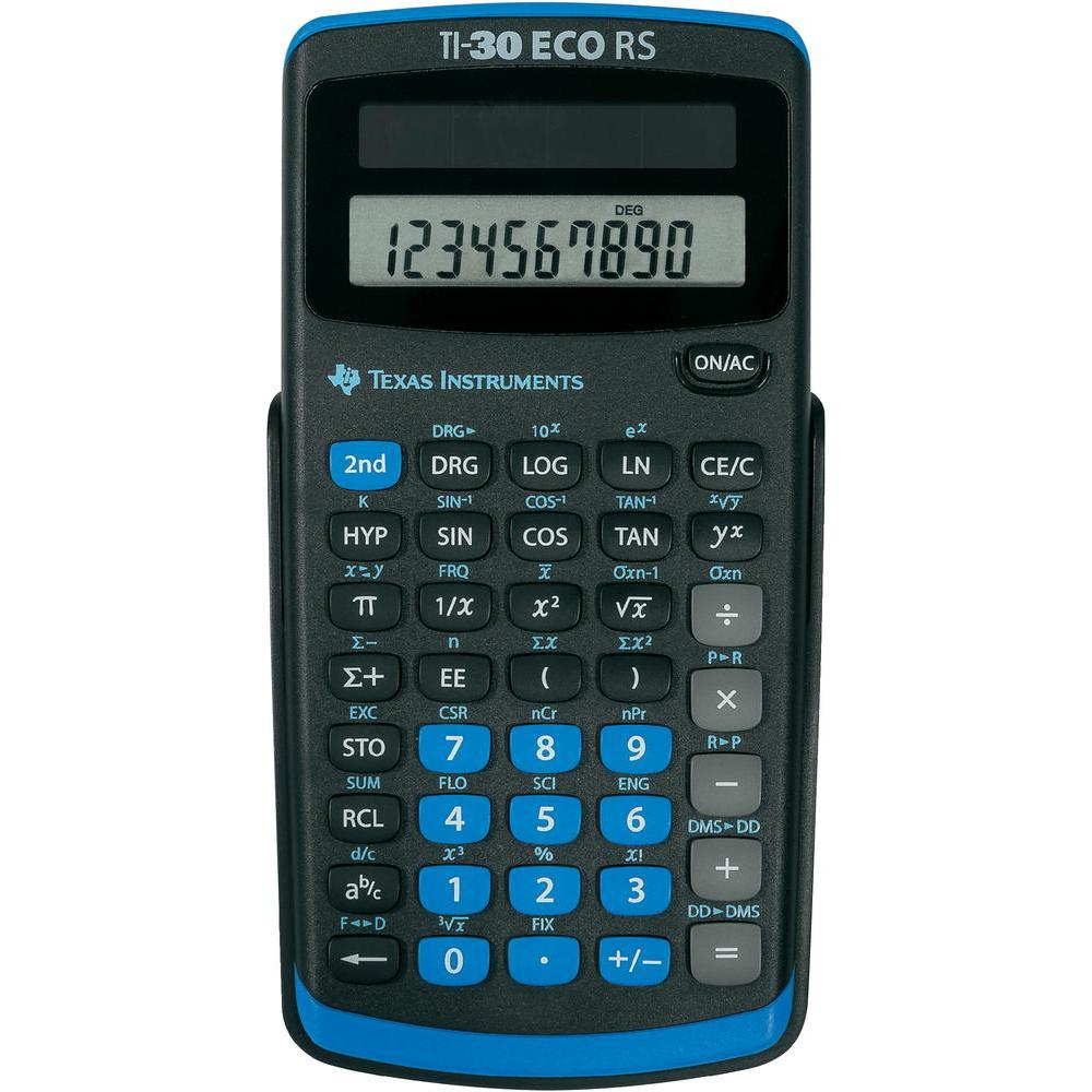 TI-30 ECO RS Scientific Calculator