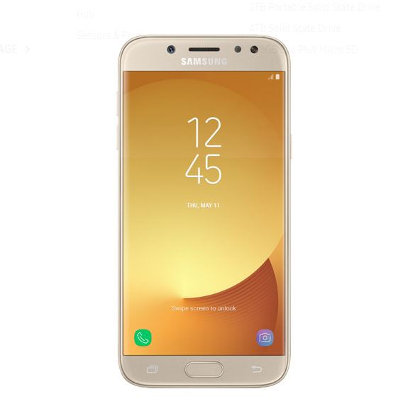 Mobile Phones Samsung Galaxy J5 Gold
