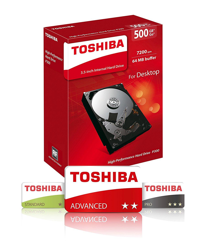 TOSHIBA P300 3.5 INCH 500GB