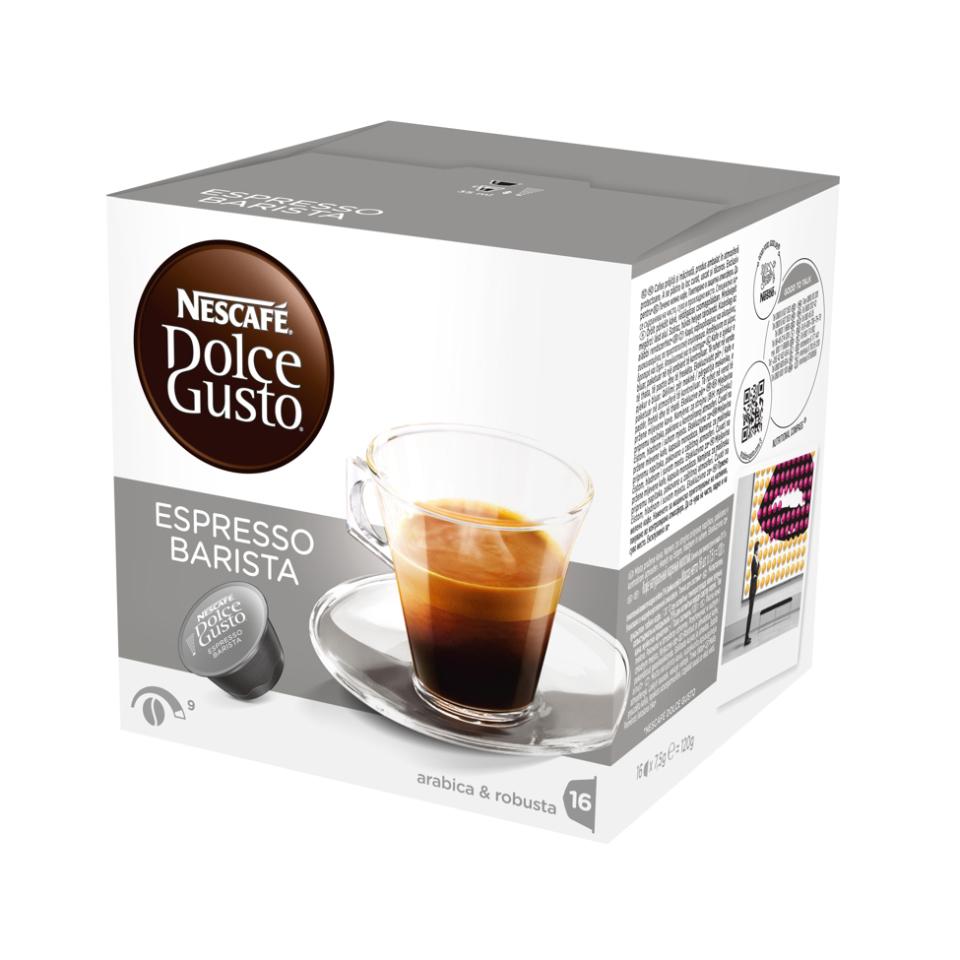 Nescafe Dolce Gusto Espresso Barista 16 capsules (Pack 3)