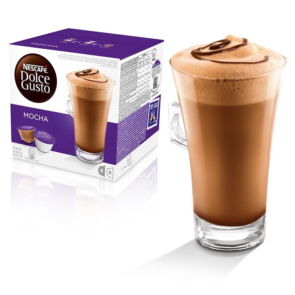 Nescafe Dolce Gusto Mocha 16 capsules (Pack 3)