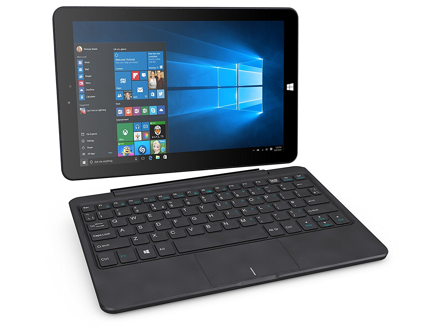 Tablets Linx 10in 4G Tablet with Keyboard