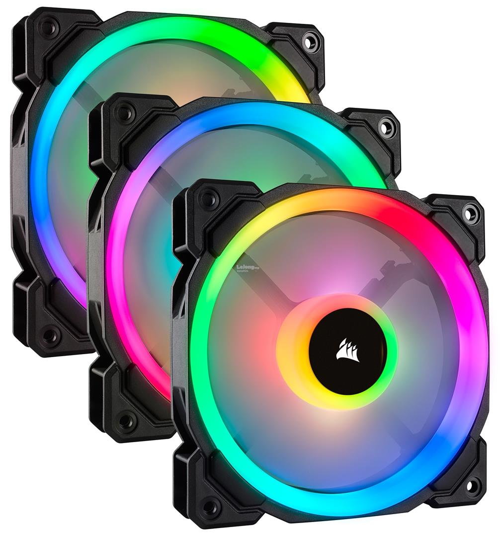 Corsair LL120 Dual Light Loop PWM Fan