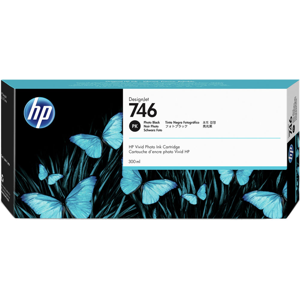 Printheads HP P2V82A 746 PHOTO BLACK INK CARTRIDGE