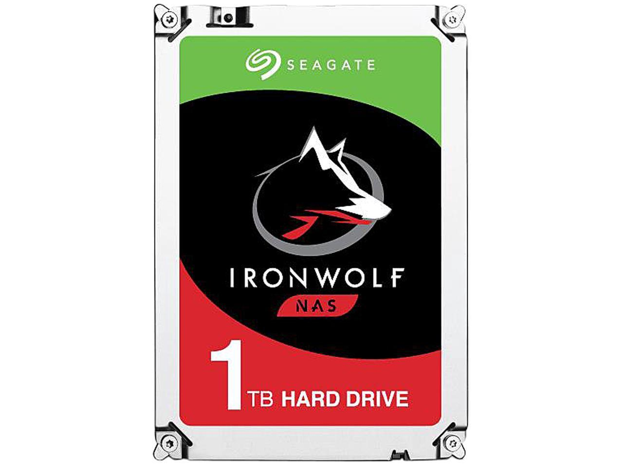 Seagate 1TB Internal IronWolf SATA 3.5 Hard Drive