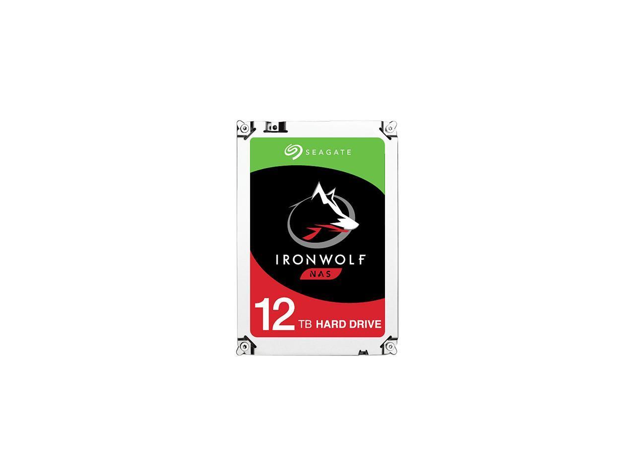 Seagate 12TB Internal Ironwolf SATA 3.5 HDD