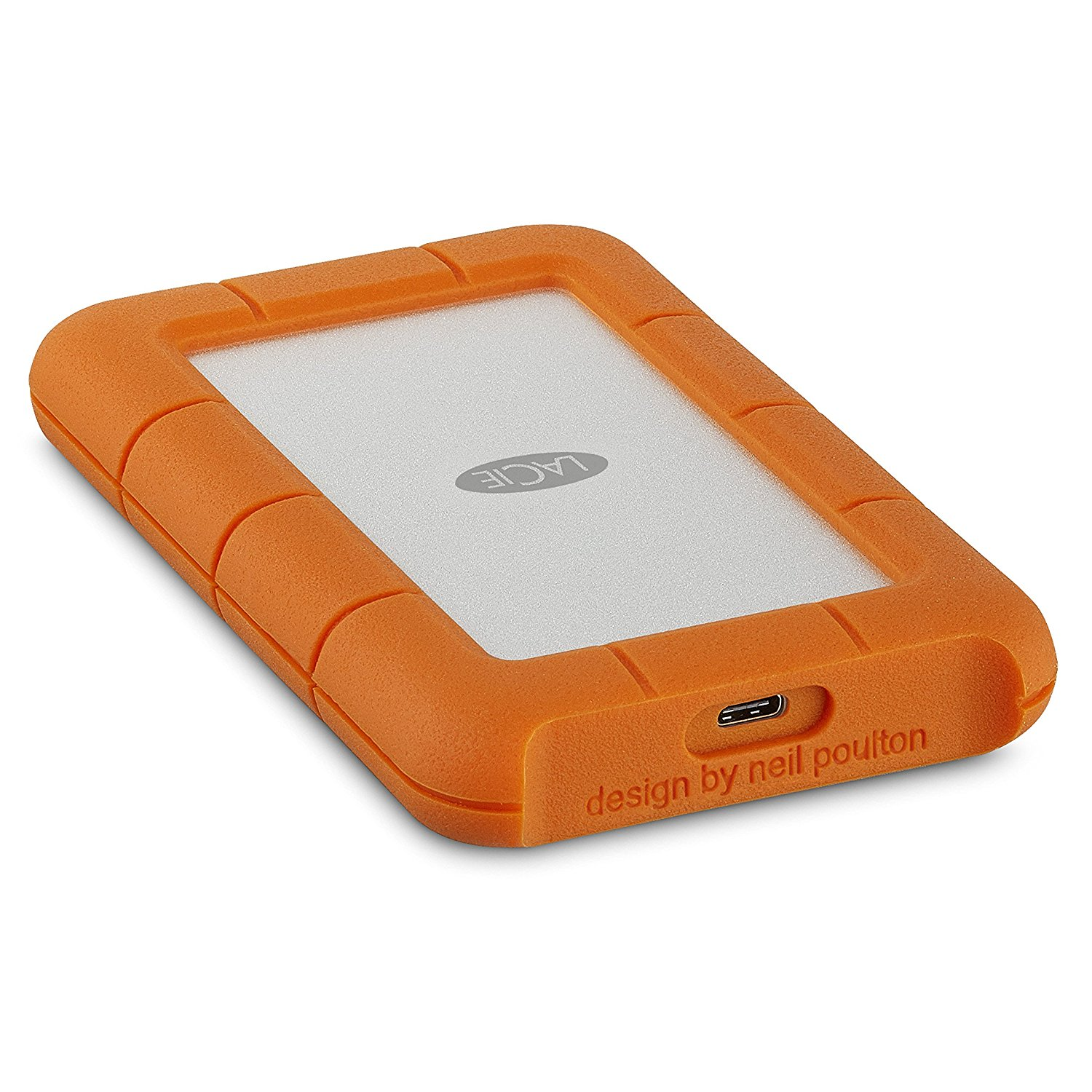 LaCie 5TB Rugged Portable USBC External HDD
