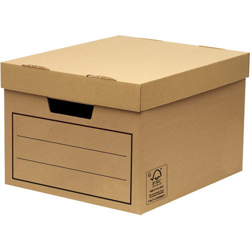 Storage Boxes Fellowes General Storage and Archive Box Board Brown (Pack 10)
