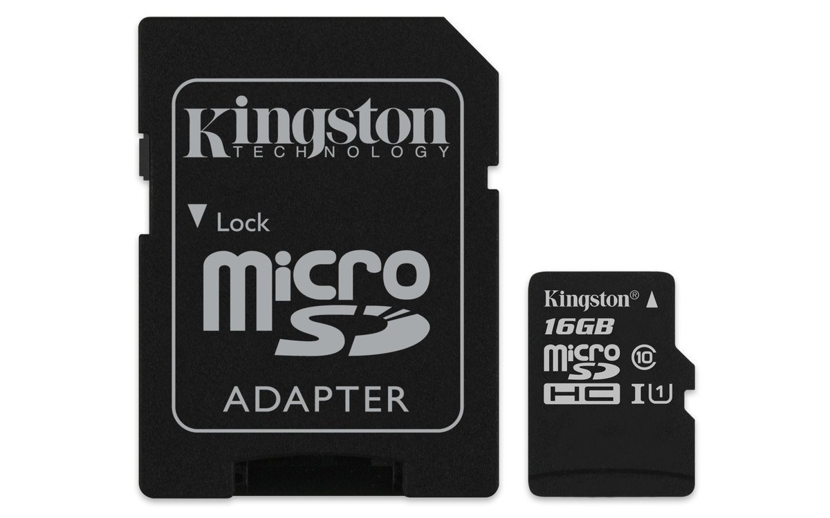Memory Cards Kingston FC 16GB CL10 UHS 1 Micro SD HC AD