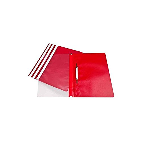 Clip Files ValueX Report Files A4 Red (Pack 25)