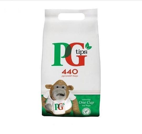 Tea PG Tips One Cup Pyramid Teabags PK440