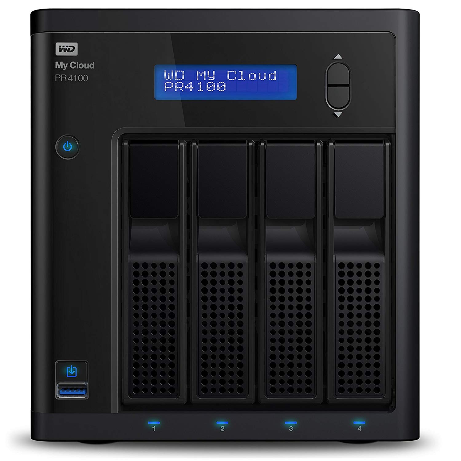 My Cloud PR4100 16TB NAS Ext HDD